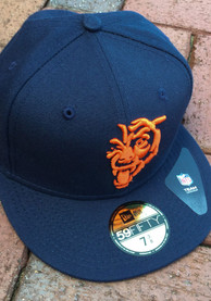 Chicago Bears New Era Navy Blue Elemental 59FIFTY Fitted Hat
