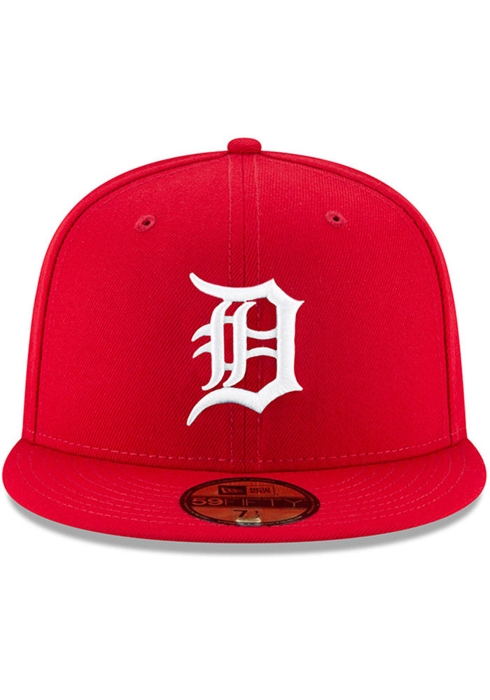 New Era Detroit Tigers Mens Red Fashion