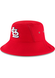 St Louis Cardinals New Era Player Clubhouse Bucket Hat - Red