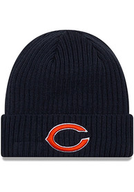 New Era Chicago Bears Navy Blue JR Core Classic Youth Knit Hat