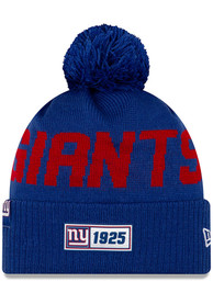 New York Giants New Era 2019 Official Road Sport Knit - Blue