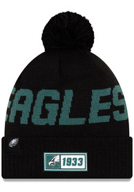 more photos 6ca9e b2fa0 New Era Philadelphia Eagles Green 2019 Official Home Sport Knit Hat