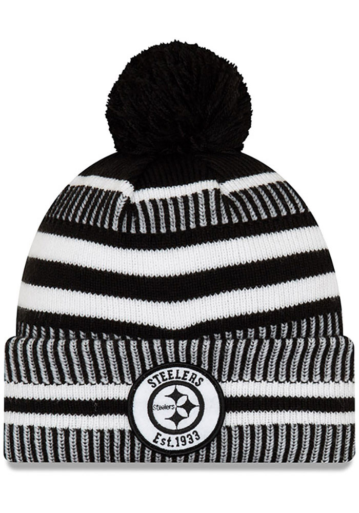 Pittsburgh Steelers New Era 2019 Home Sport Knit - Black