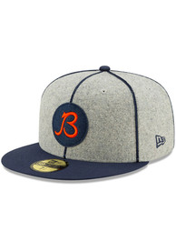 Chicago Bears New Era Grey 2019 Official Sideline Home 59FIFTY Fitted Hat