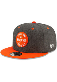 Cleveland Browns New Era 2019 Official Sideline Home 9FIFTY Snapback - Grey
