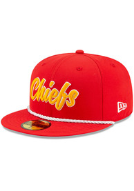 Kansas City Chiefs New Era Red 2019 Official Sideline Home 59FIFTY Fitted Hat
