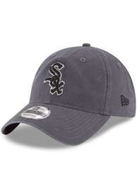Chicago White Sox New Era Core Classic 9TWENTY Adjustable Hat - Grey