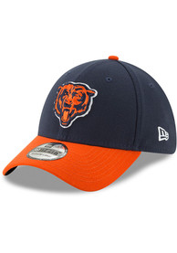 Chicago Bears New Era Team Classic 39THIRTY Flex Hat - Navy Blue