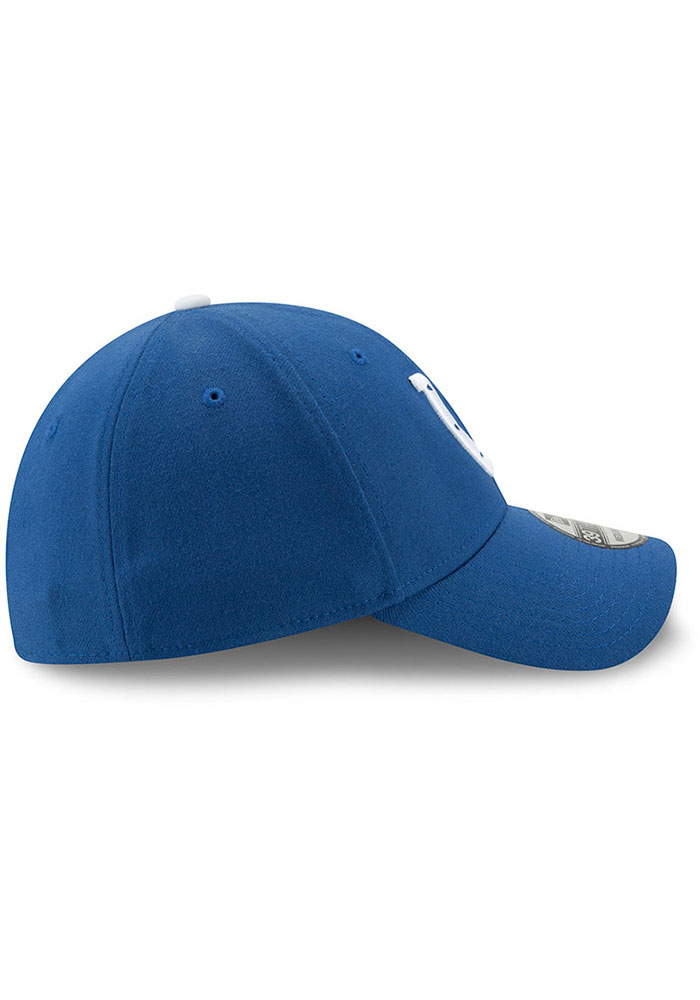 New Era Indianapolis Colts Mens Blue Team Classic 39THIRTY Flex Hat - Image 6