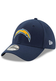 Los Angeles Chargers New Era Team Classic 39THIRTY Flex Hat - Navy Blue