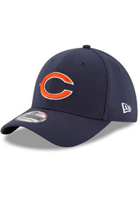 Chicago Bears Youth New Era JR TOD Team Classic 39THIRTY Flex Hat - Navy Blue