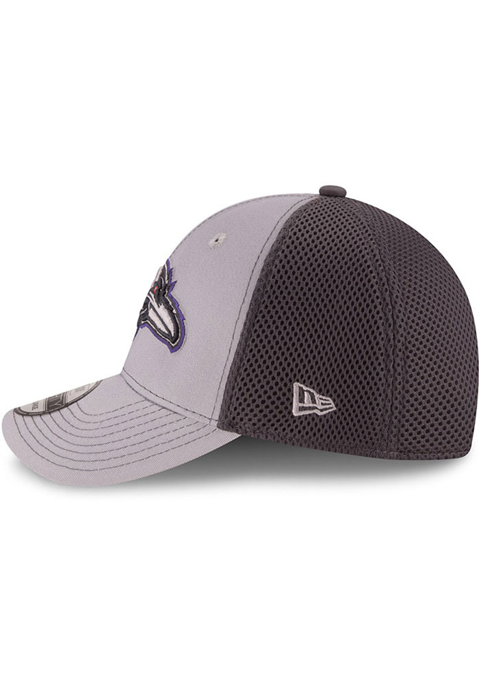 New Era Baltimore Ravens Mens Grey Grayed Out Neo 39THIRTY Flex Hat - Image 4