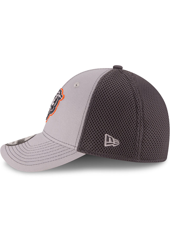 New Era Chicago Bears Mens Grey Grayed Out Neo 39THIRTY Flex Hat - Image 4