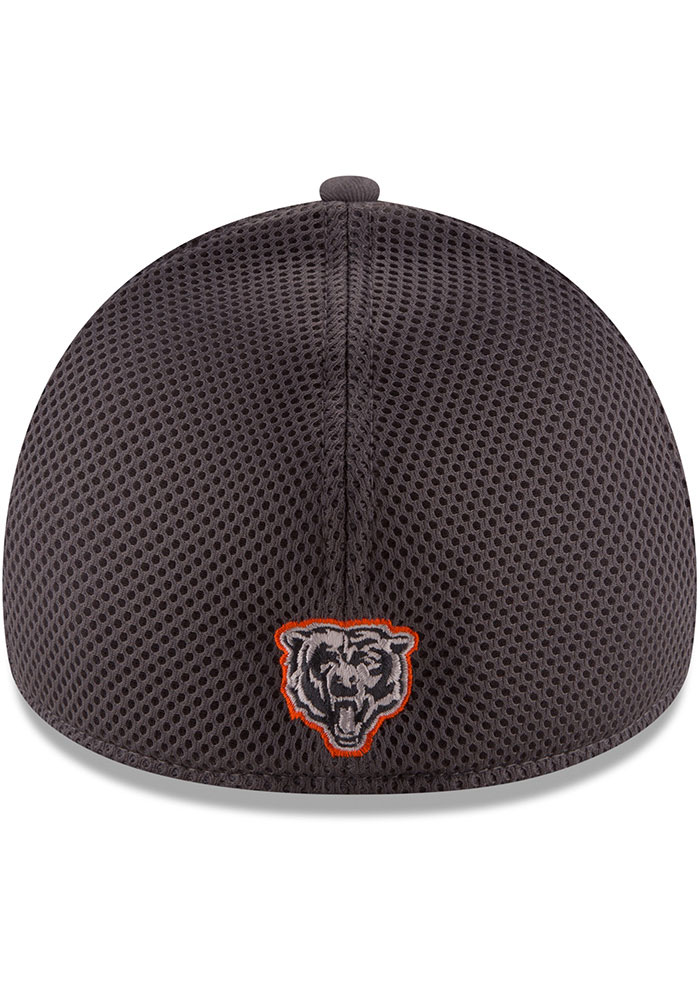 New Era Chicago Bears Mens Grey Grayed Out Neo 39THIRTY Flex Hat - Image 5