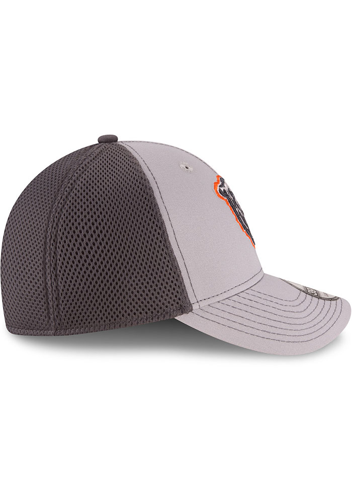 New Era Chicago Bears Mens Grey Grayed Out Neo 39THIRTY Flex Hat - Image 6