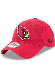 Arizona Cardinals New Era Core Classic 9TWENTY Adjustable Hat - Red