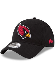 Arizona Cardinals New Era Core Classic 9TWENTY Adjustable Hat - Black