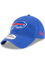 Buffalo Bills New Era Core Classic 9TWENTY Adjustable Hat - Blue