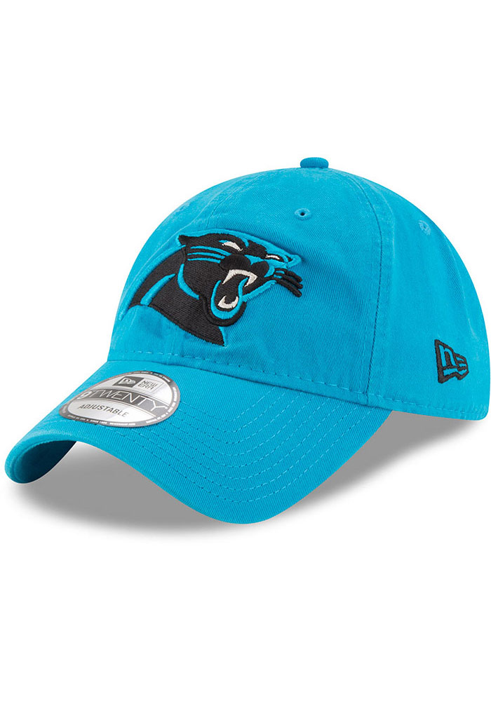 New Era Carolina Panthers Core Classic 9TWENTY Adjustable Hat - Black - Image 1