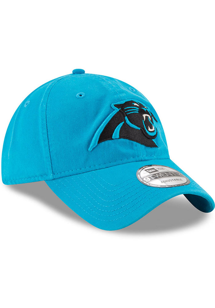 New Era Carolina Panthers Core Classic 9TWENTY Adjustable Hat - Black - Image 2