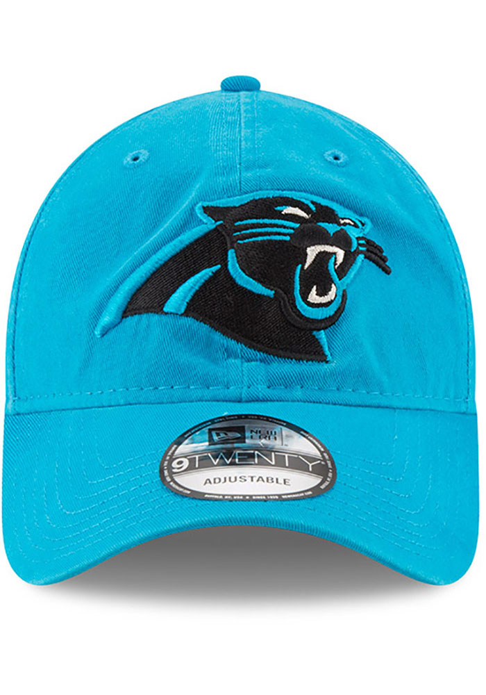 New Era Carolina Panthers Core Classic 9TWENTY Adjustable Hat - Black - Image 3