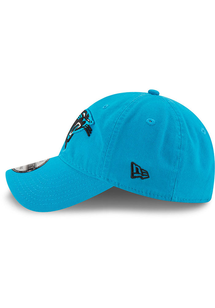 New Era Carolina Panthers Core Classic 9TWENTY Adjustable Hat - Black - Image 4