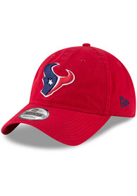 Houston Texans New Era Core Classic 9TWENTY Adjustable Hat - Red