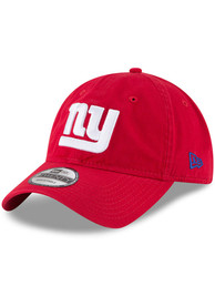 New York Giants New Era Core Classic 9TWENTY Adjustable Hat - Red