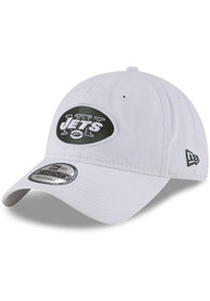 New York Jets New Era Core Classic 9TWENTY Adjustable Hat - White