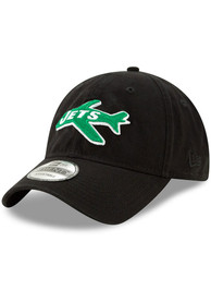 New York Jets New Era Core Classic 9TWENTY Adjustable Hat - Black