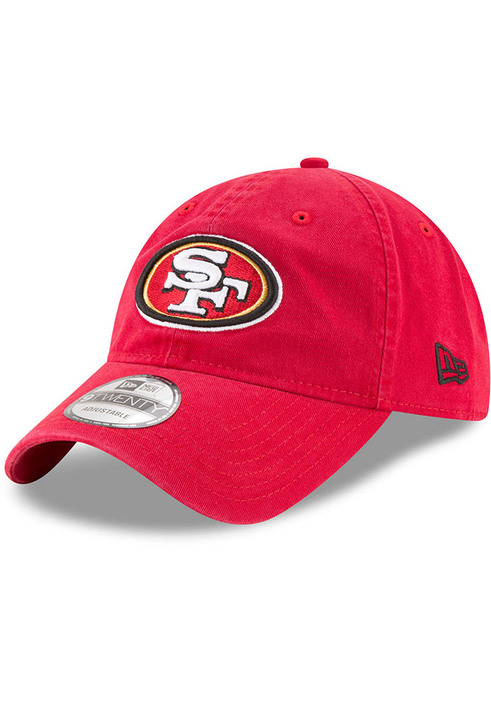 San Francisco 49ers New Era Core Classic 9TWENTY Adjustable Hat - Red