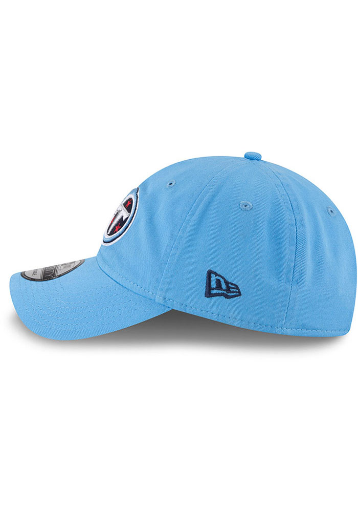 New Era Tennessee Titans Core Classic 9TWENTY Adjustable Hat - Light Blue - Image 4