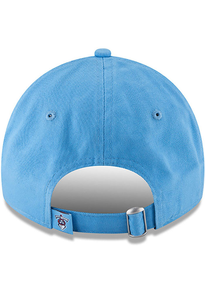 New Era Tennessee Titans Core Classic 9TWENTY Adjustable Hat - Light Blue - Image 5