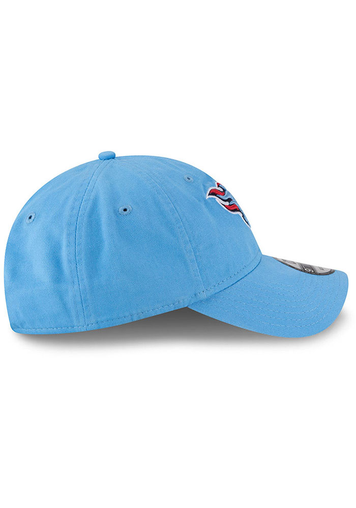 New Era Tennessee Titans Core Classic 9TWENTY Adjustable Hat - Light Blue - Image 6