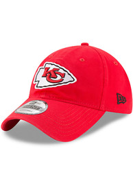 Kansas City Chiefs Youth New Era JR Core Classic 9TWENTY Adjustable Hat - Red