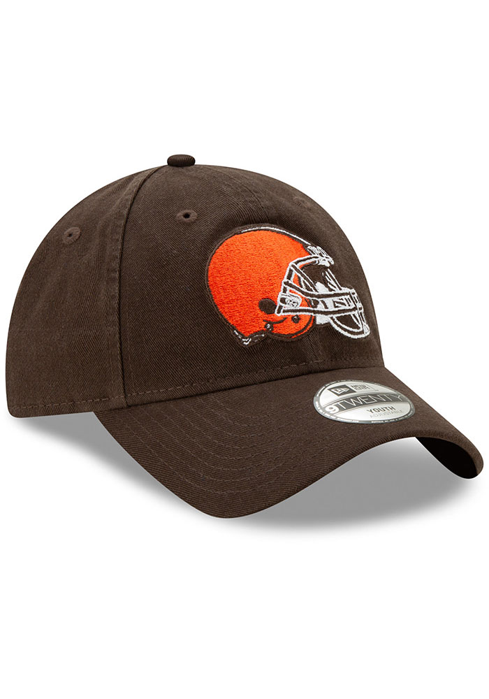 New Era Cleveland Browns Brown JR Core Classic 9TWENTY Youth Adjustable Hat - Image 2
