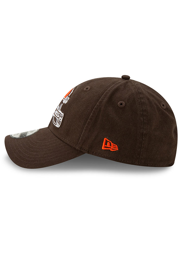 New Era Cleveland Browns Brown JR Core Classic 9TWENTY Youth Adjustable Hat - Image 4
