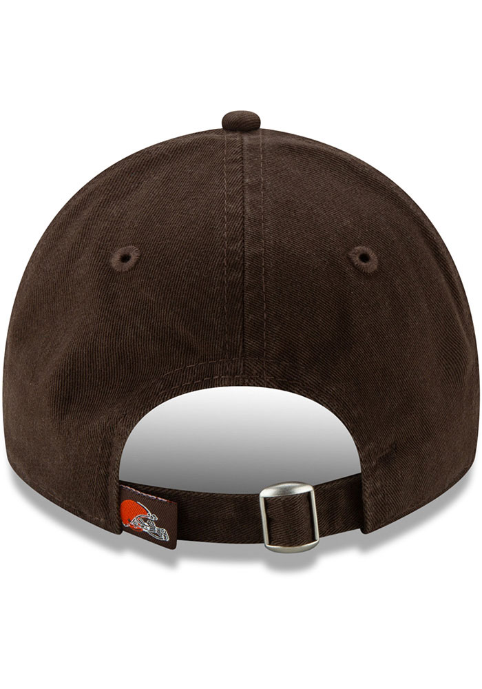 New Era Cleveland Browns Brown JR Core Classic 9TWENTY Youth Adjustable Hat - Image 5