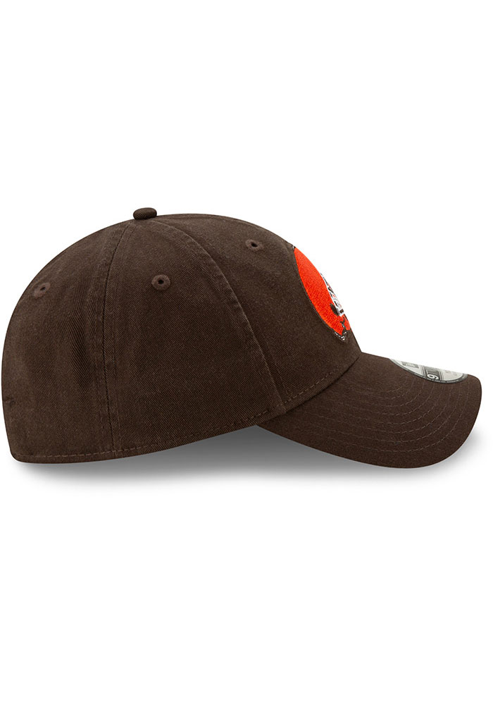 New Era Cleveland Browns Brown JR Core Classic 9TWENTY Youth Adjustable Hat - Image 6