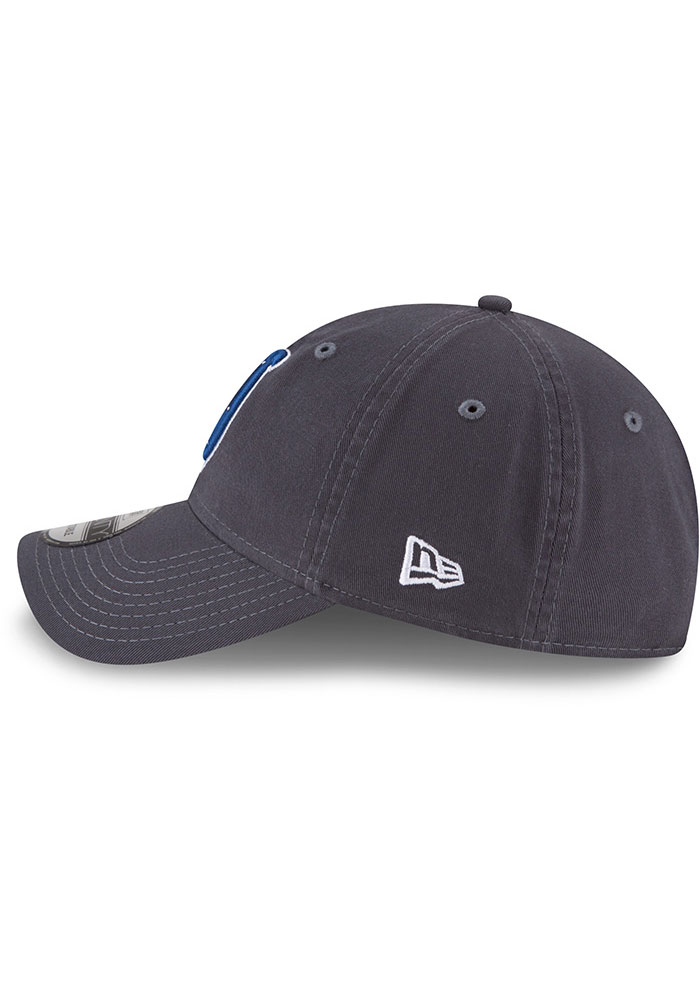 New Era Indianapolis Colts Core Classic 9TWENTY Adjustable Hat - Grey - Image 4