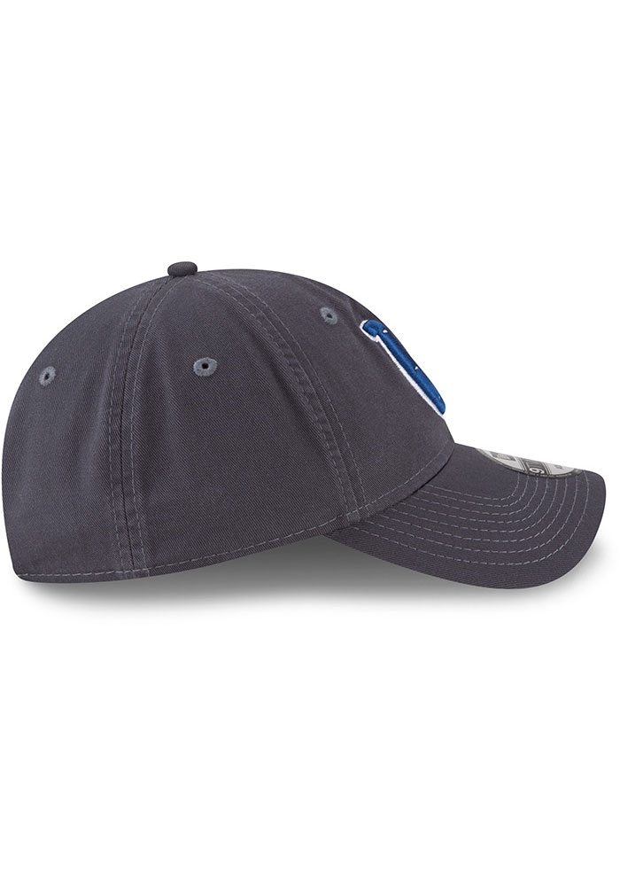 New Era Indianapolis Colts Core Classic 9TWENTY Adjustable Hat - Grey - Image 6