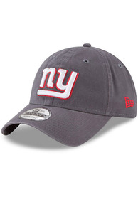 New York Giants New Era Core Classic 9TWENTY Adjustable Hat - Grey