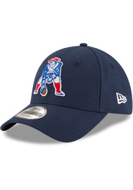 New England Patriots New Era The League 9FORTY Adjustable Hat - Navy Blue