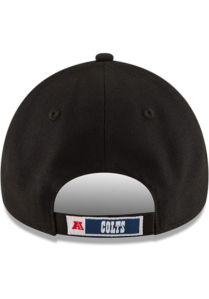 New Era Indianapolis Colts The League 9FORTY Adjustable Hat - Black - Image 5