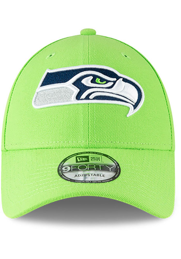 New Era Seattle Seahawks The League 9FORTY Adjustable Hat - Green - Image 3
