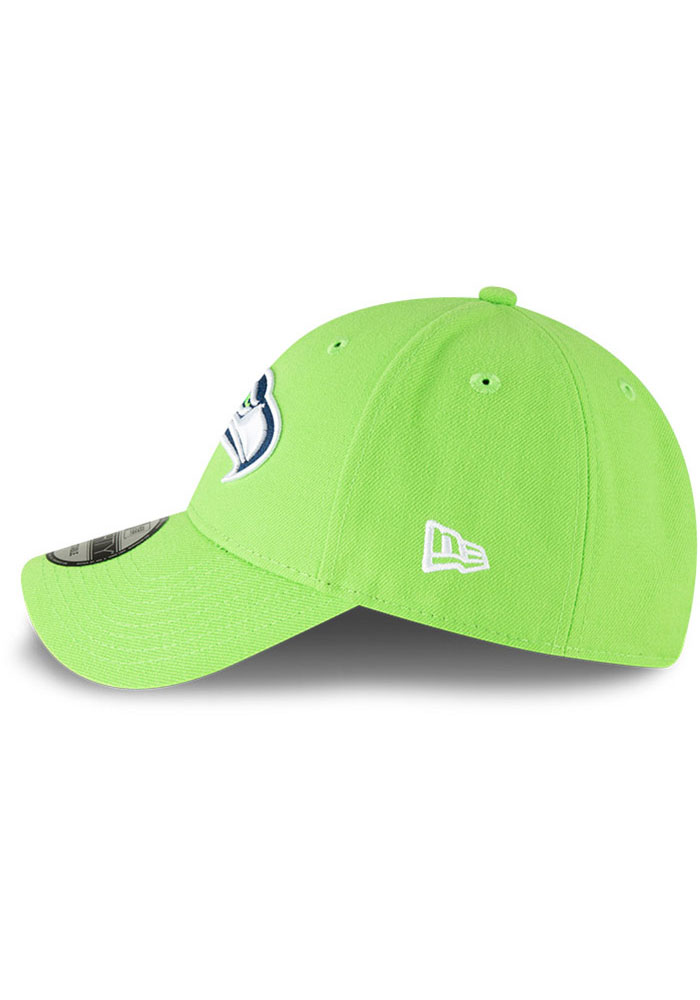 New Era Seattle Seahawks The League 9FORTY Adjustable Hat - Green - Image 4
