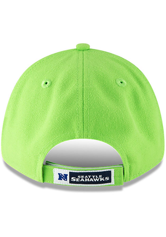 New Era Seattle Seahawks The League 9FORTY Adjustable Hat - Green - Image 5