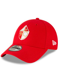 San Francisco 49ers New Era The League 9FORTY Adjustable Hat - Red