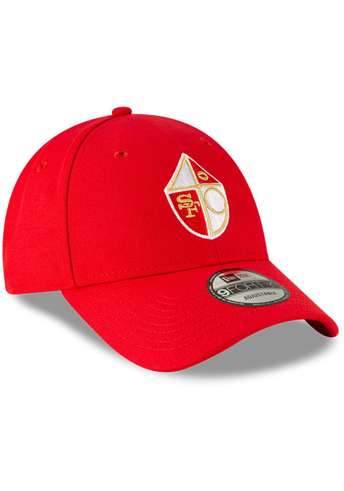 New Era San Francisco 49ers The League 9FORTY Adjustable Hat - Red - Image 2