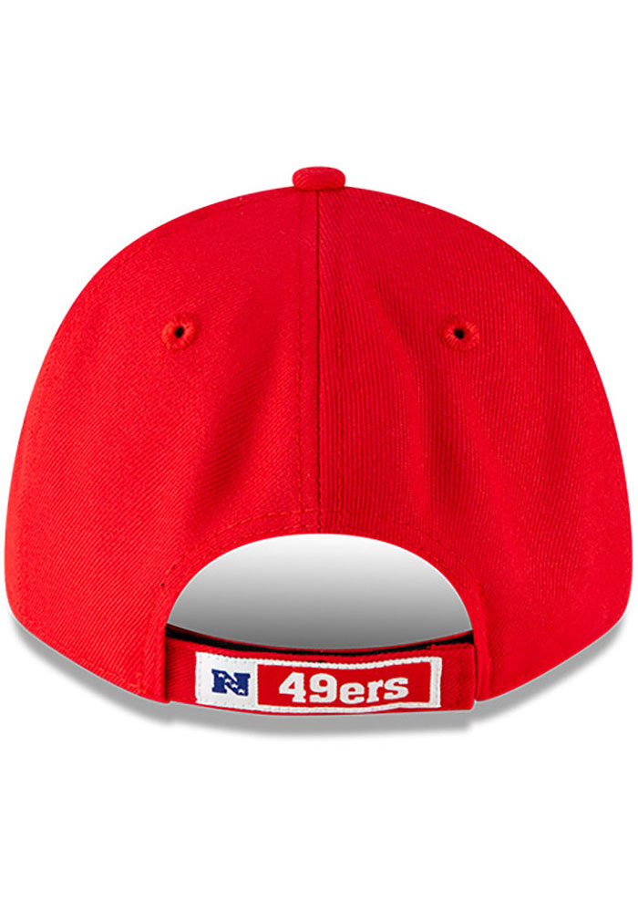 New Era San Francisco 49ers The League 9FORTY Adjustable Hat - Red - Image 5